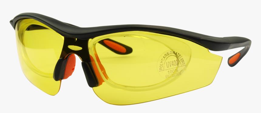 Blackyellow Glasses Frame - Diving Mask, HD Png Download, Free Download