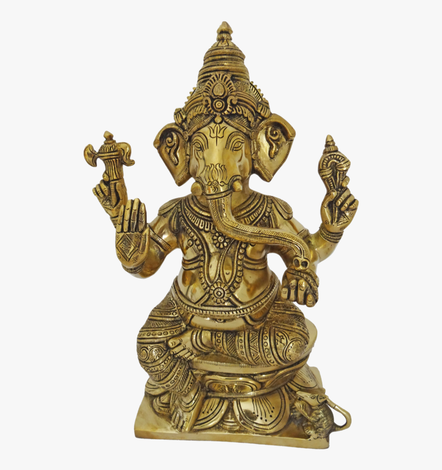 Holy God Idampuri Vinayagar Statue, 4 X 13 Inch, Vgo - Indian Religious Statues, HD Png Download, Free Download