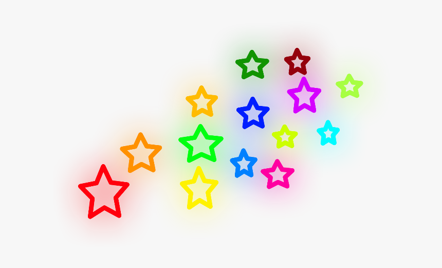 #stars #color #colours #colourfulstars #glow #neon - Avril Lavigne Tattoo Design, HD Png Download, Free Download