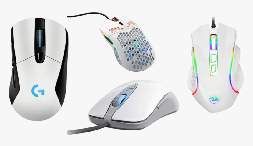 Best White Gaming Mice - Best White Gaming Mouse, HD Png Download, Free Download