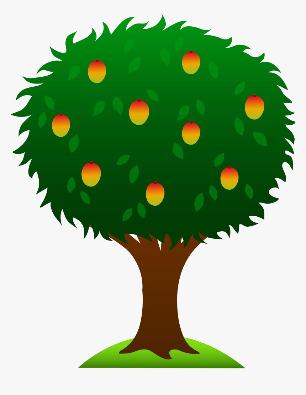 Mango Tree Clip Art, HD Png Download, Free Download