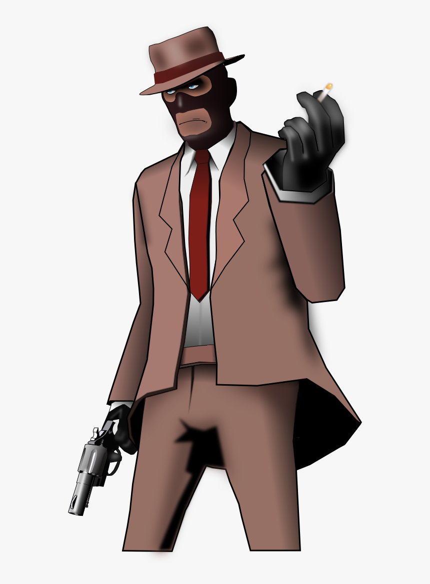 Spy Png Team Fortress 2 Drawing Spy Transparent Png Kindpng