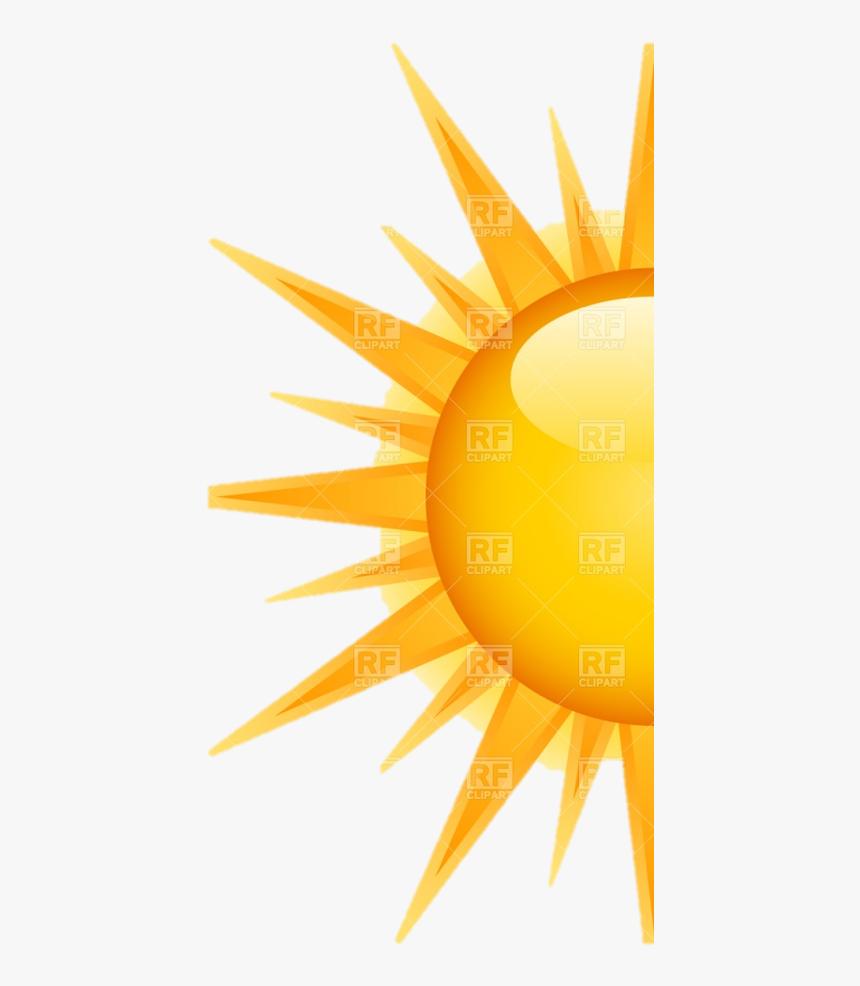 Half Sun Png Half Of A Sun Transparent Png Kindpng