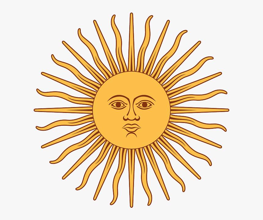 Transparent Sun Vector Png Flag Of Argentina Sun Png Download