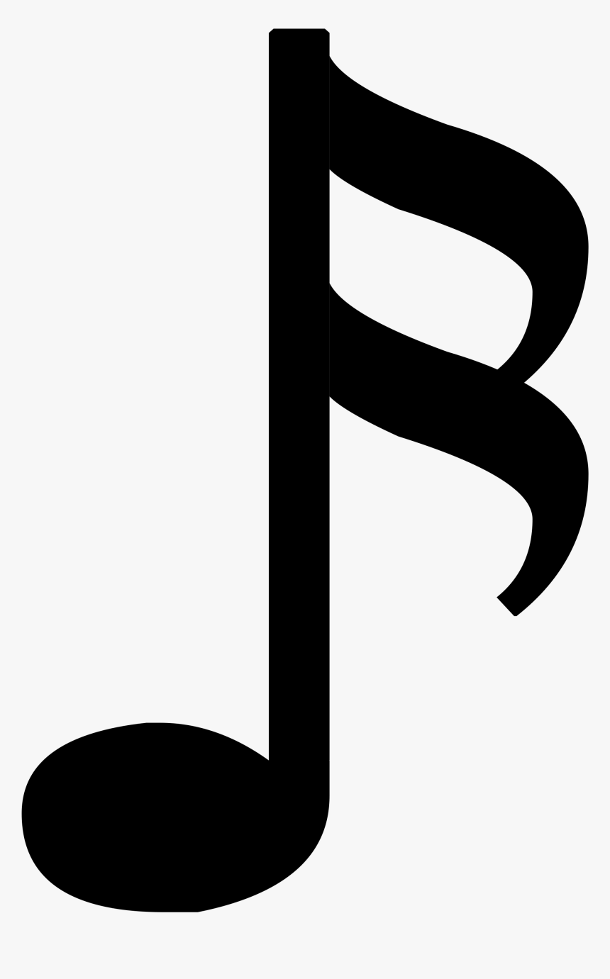 Music Note Png - 1 8 Music Note, Transparent Png, Free Download