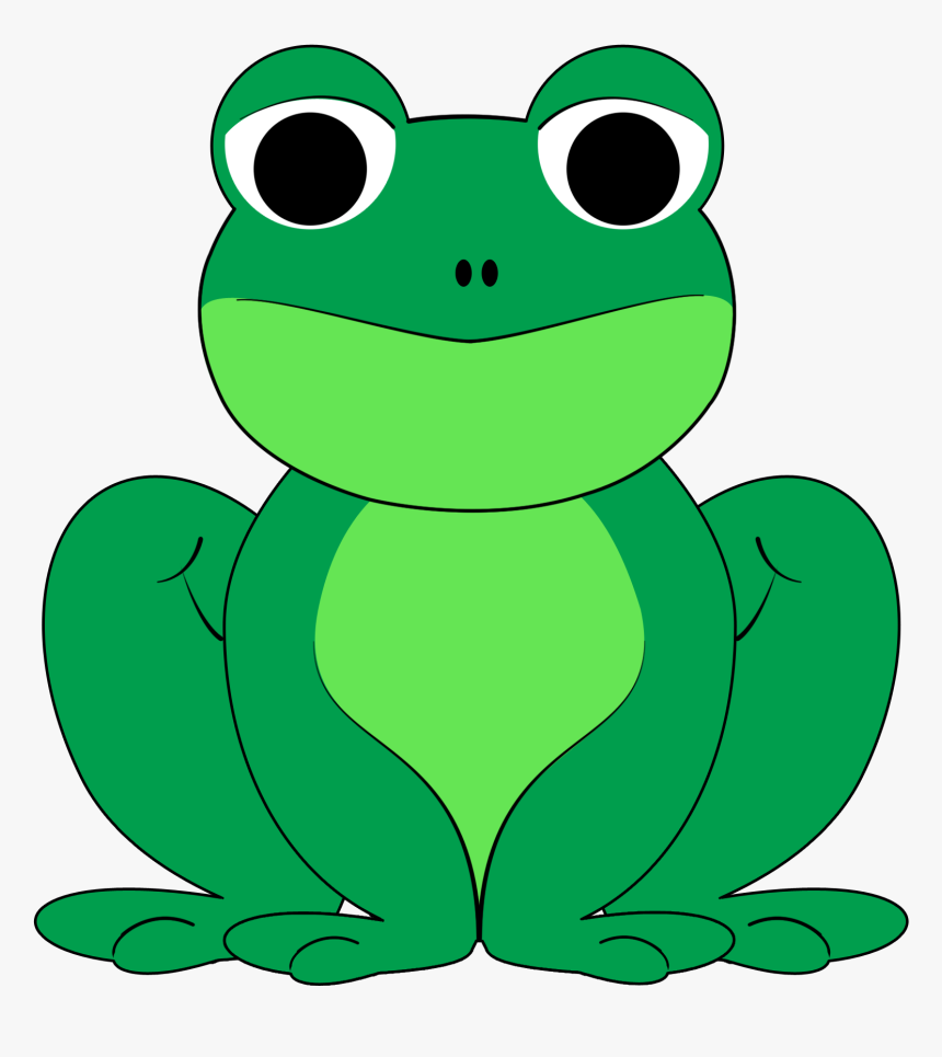 Sad Kid Clip Art - Frog Clipart, HD Png Download, Free Download