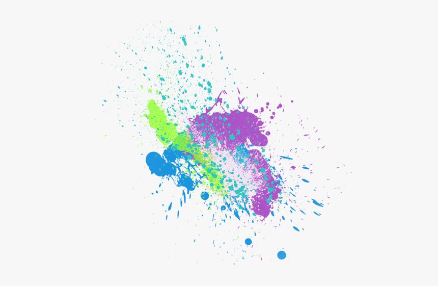 Run Color Wallpaper Desktop Holi The Editing Clipart - Colour Picsart Splash Effect, HD Png Download, Free Download