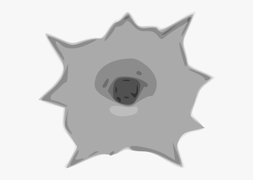 Bullet Hole Clip Art, HD Png Download, Free Download