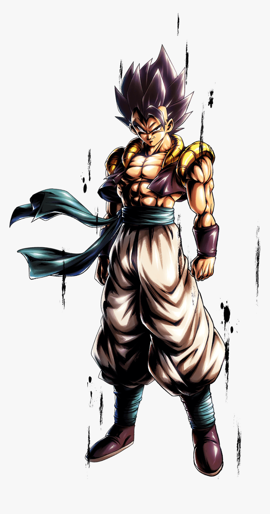 Hd Super Saiyan - Dragon Ball Legends Gogeta, HD Png Download, Free Download