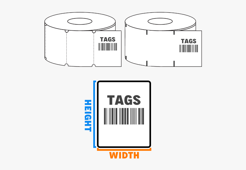 Thermal Tags Hw - Label, HD Png Download, Free Download