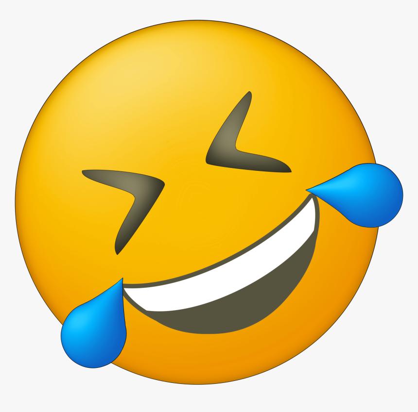 Birthday Clipart Emoji - Side Crying Laughing Emoji, HD Png Download, Free Download