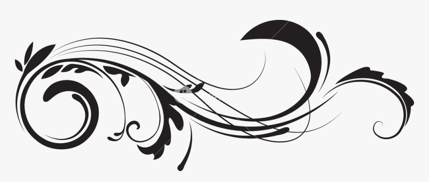 Clip Art Png No For - Transparent Background Swirl Border Png, Png Download, Free Download