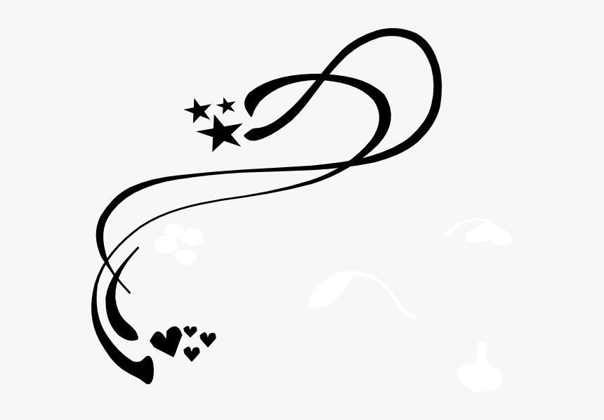 Scroll Swirl Clip Art - Line Art Corner Designs, HD Png Download, Free Download