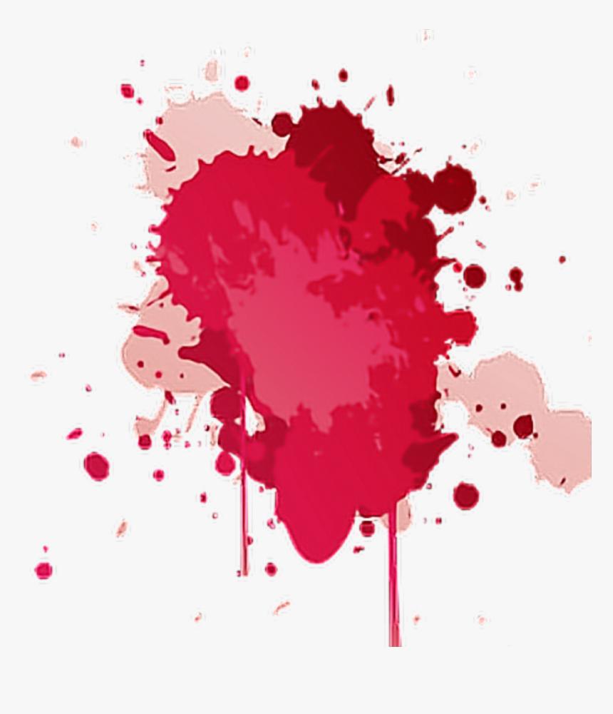 Red Ink Splatter Png - Red Paint Splatter Png, Transparent Png, Free Download