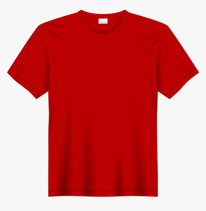 red t shirt transparent