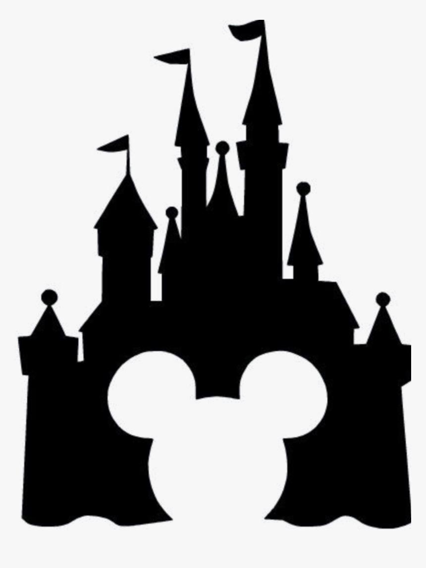 Cinderella Castle Silhouette