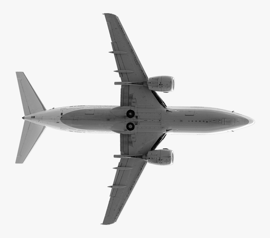 Transparent Plane Silhouette Png Aeroplane Png From Bottom Png