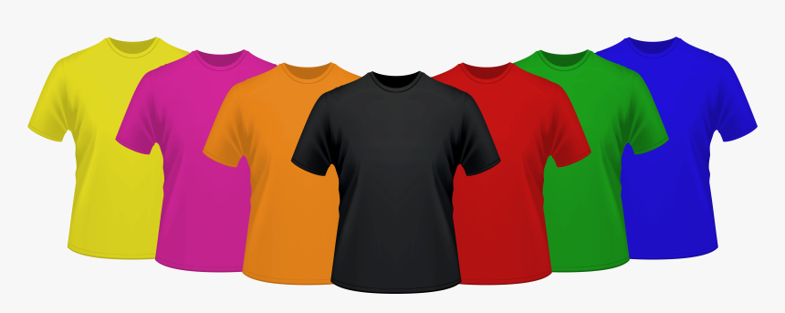 Dc T-shirt Factory - Round Neck Plain T Shirts, HD Png Download, Free Download