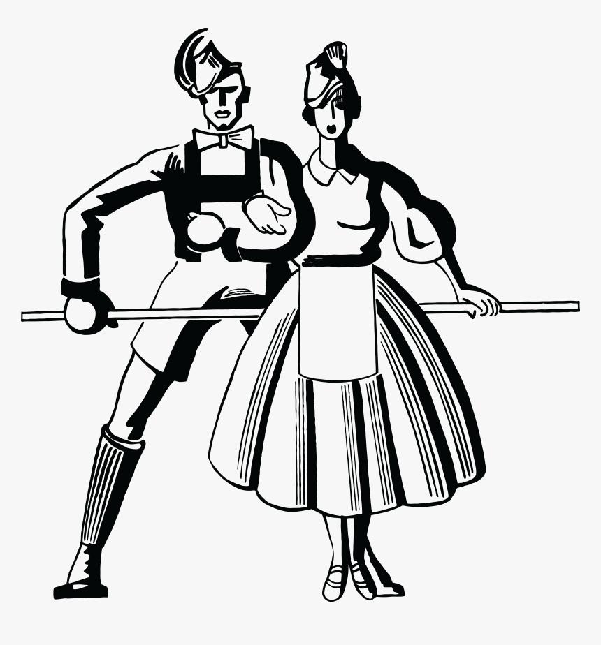 Human Clipart Dancing - Retro Dancing Silhouette Png Transparent Png  (#873587) - PinClipart