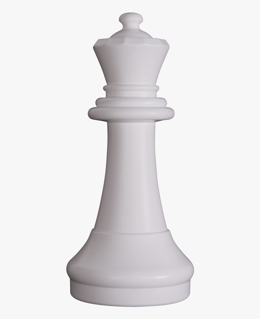 Transparent Board Game Pieces Clipart - White Queen Chess Piece Png, Png Download, Free Download