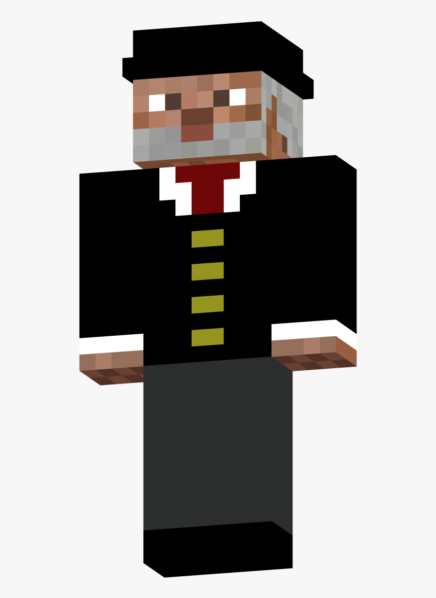 Minecraft Fanon Wiki - Minecraft Sloth Tux Skin, HD Png Download, Free Download