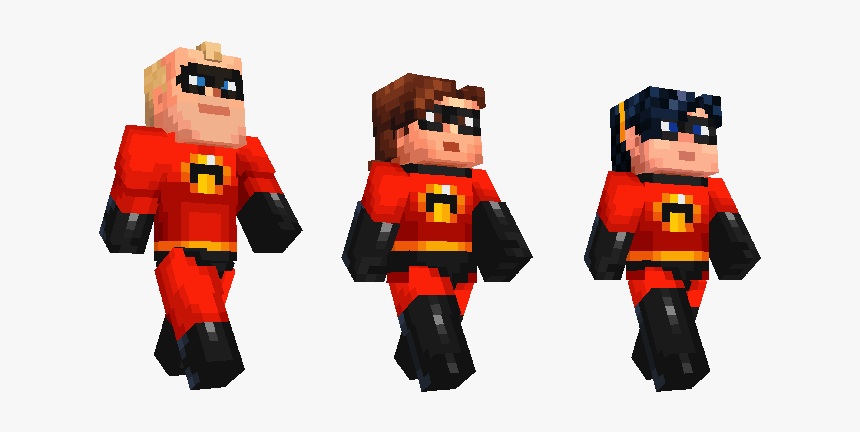 Violet Incredibles Minecraft Skin, HD Png Download, Free Download