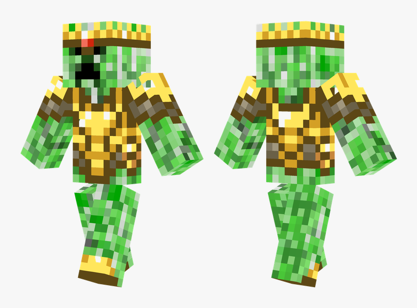 Minecraft Skins Creeper King Png Download Minecraft Skin Creeper Blue Transparent Png Kindpng