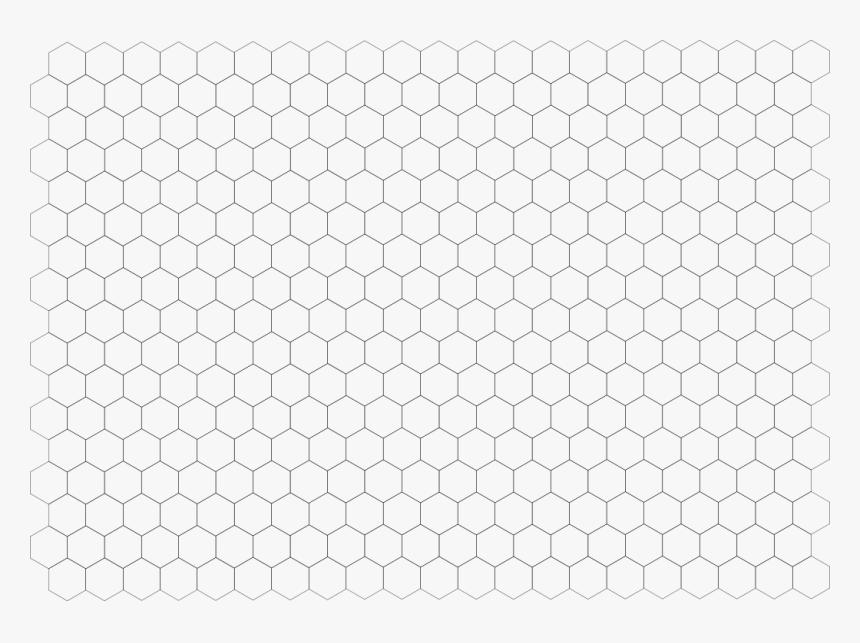 Hexagon Graph Paper - Enjambre, HD Png Download, Free Download