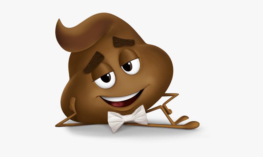 Poo Emoji Movie Character - Poop Emoji Emoji Movie, HD Png Download, Free Download