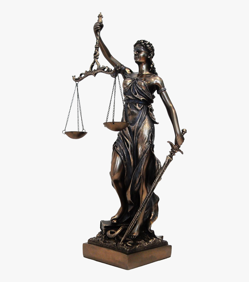 Law Justice Statue Png, Transparent Png, Free Download