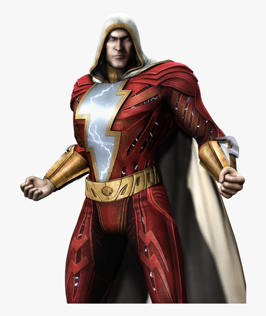 Character Profile Wikia - Injustice God Among Us Shazam, HD Png Download, Free Download