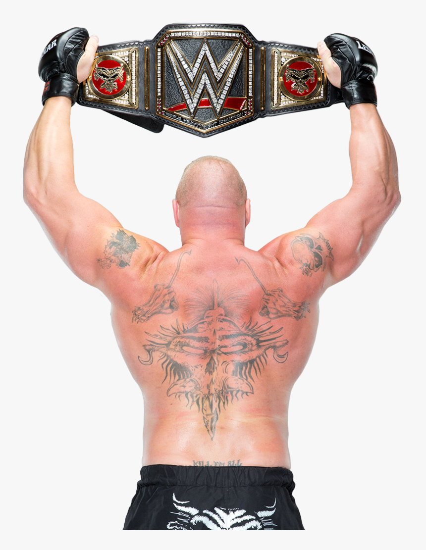 Brock Lesnar Png - Brock Lesnar Wwe World Heavyweight Champion, Transparent Png, Free Download