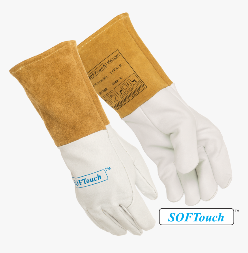 10 1009 Goatskin Tig Glove 2 - Leather, HD Png Download, Free Download