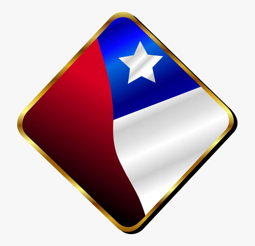 Red And Blue Flag Country With Star, HD Png Download, Free Download