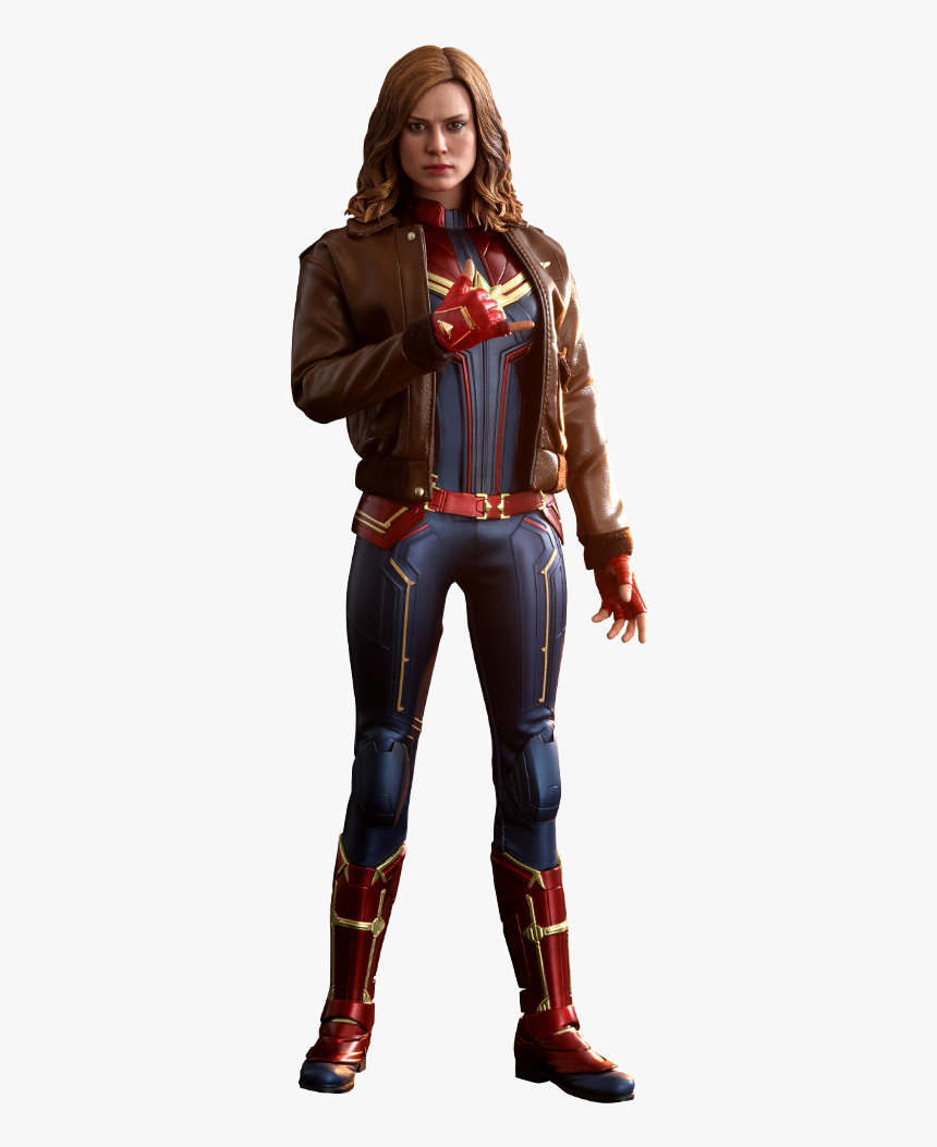 Captain Marvel Png - Captain Marvel Figure, Transparent Png, Free Download