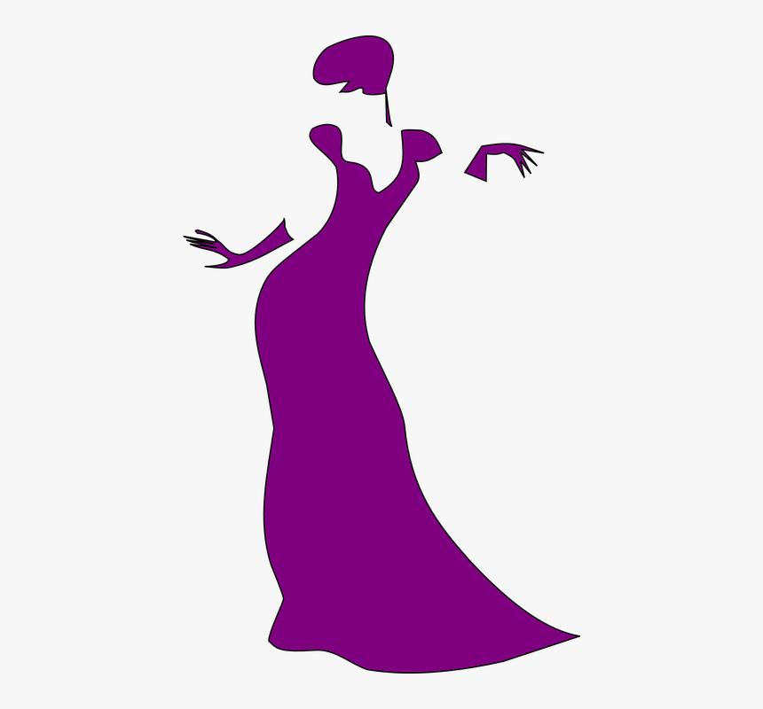 Mulher De Vestido Desenho Png Transparent Png Kindpng