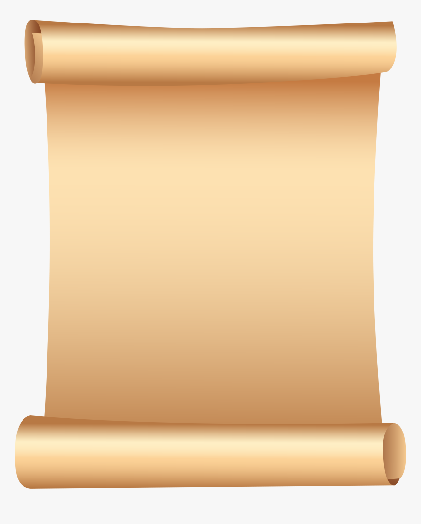 Paper Clipart Scroll, HD Png Download, Free Download