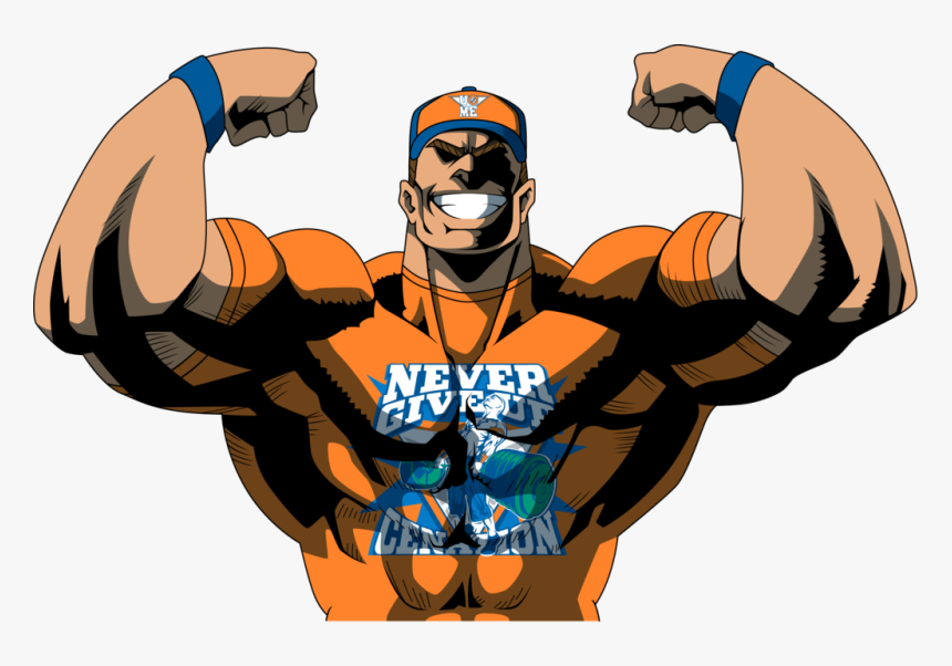 John Cena All Might, HD Png Download, Free Download