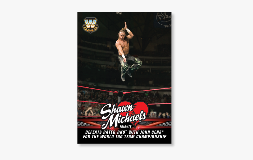 2018 Topps Wwe Heritage Defeats Rated Rko With John - Shawn Michaels, HD Png Download, Free Download