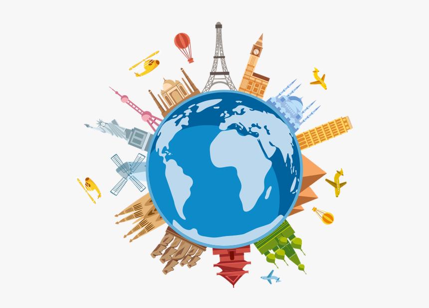 World Travel Clipart Png World Travel Symbol Transparent Png Kindpng