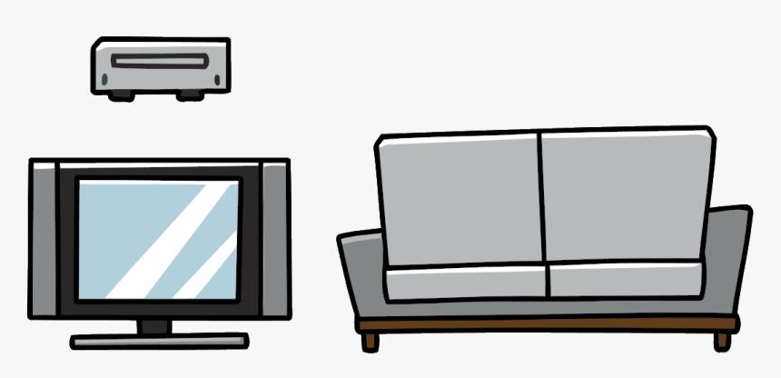 Thumb Image - Scribblenauts Living Room, HD Png Download, Free Download