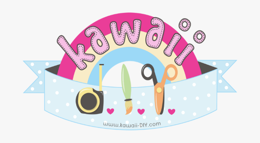 Kawaii Word Png - Border Cute Kawaii Png, Transparent Png, Free Download
