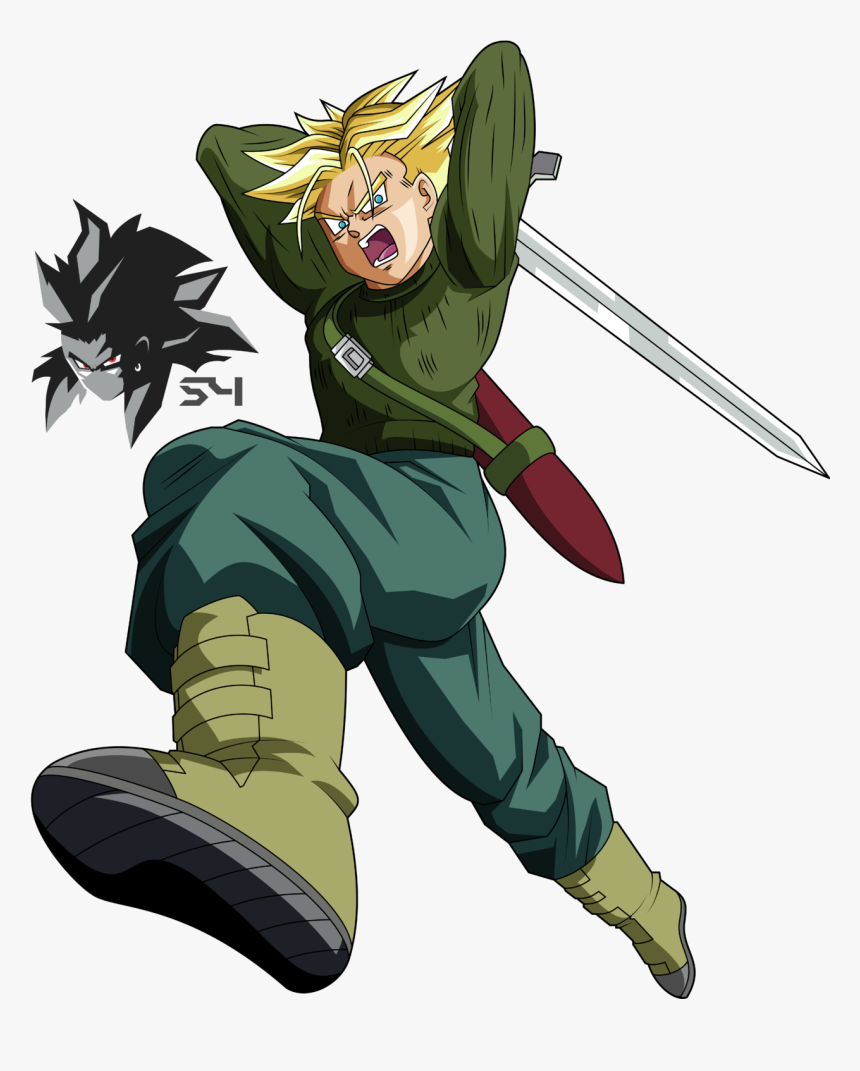 Thumb Image - Dragon Ball Super Trunks Ssj, HD Png Download, Free Download