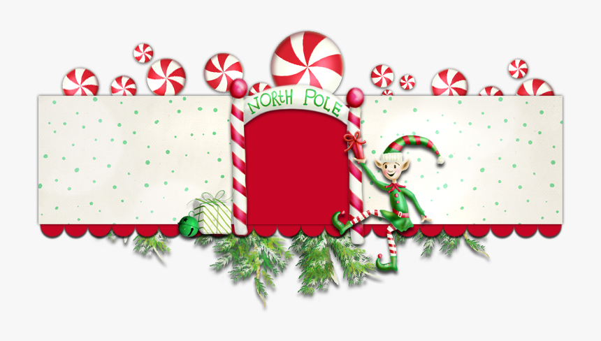 Yuletide Whimsy Banner Free Christmas Tree Blog Background - Free Christmas Banner Template, HD Png Download, Free Download