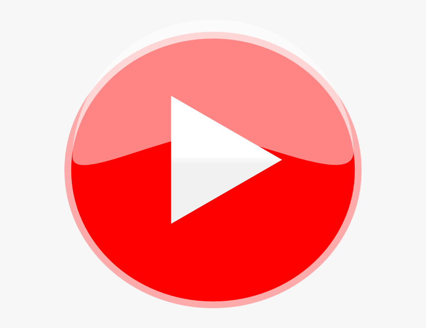 Red Play Button Png , Png Download - Red Play Button Icon, Transparent Png, Free Download