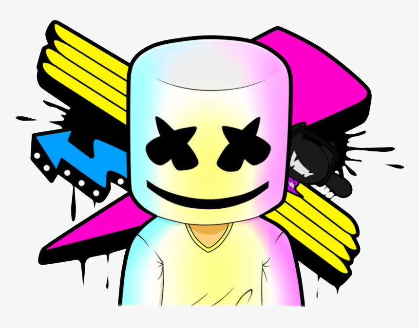 Marshmello Png Download Image - Marshmello Logo, Transparent Png, Free Download
