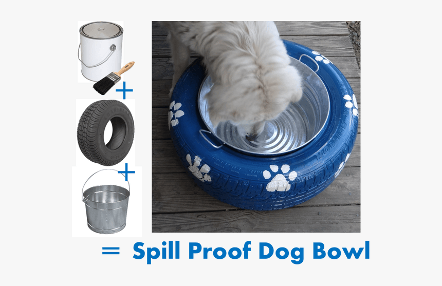 Tire Dog Bed Diy, HD Png Download, Free Download