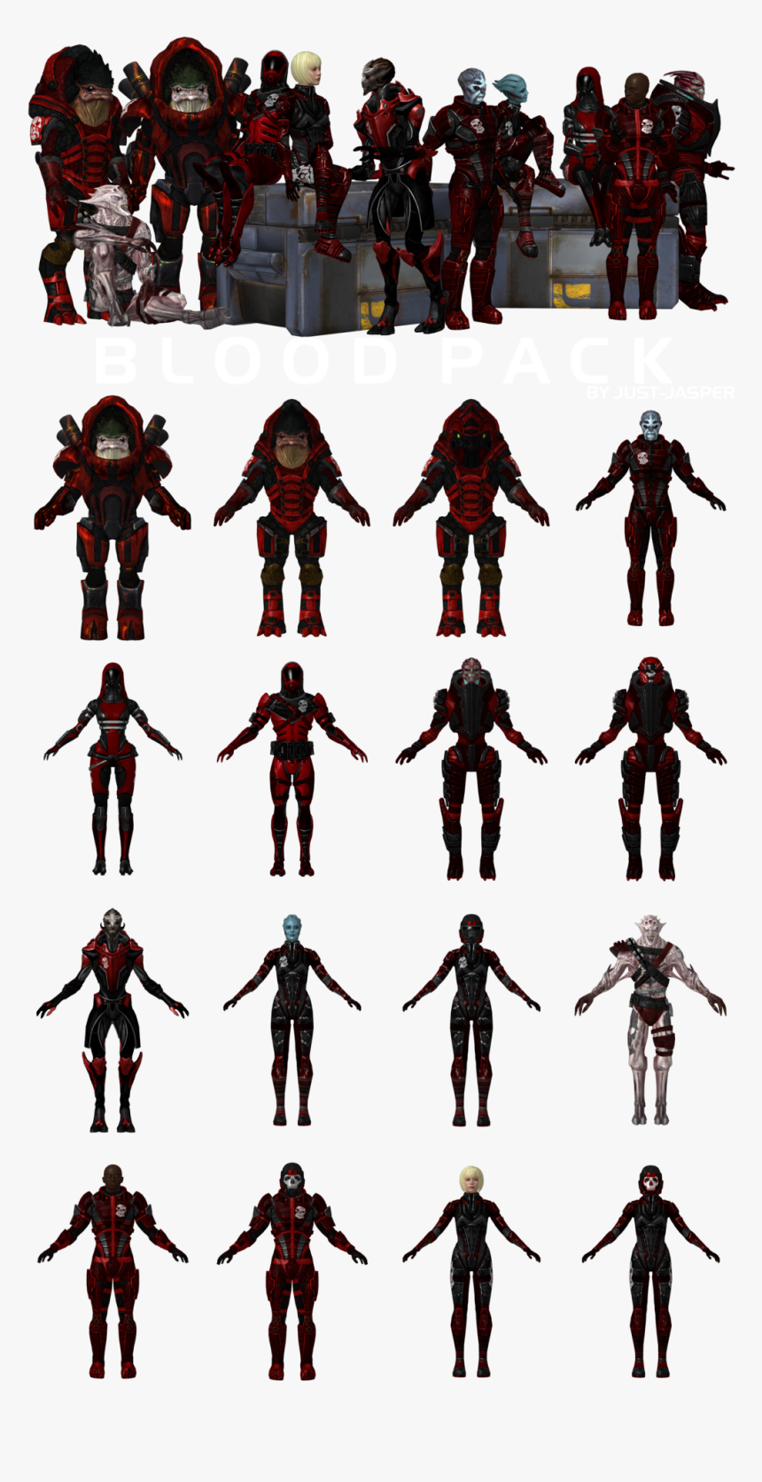 Mass Effect Blood Pack Porps, HD Png Download, Free Download