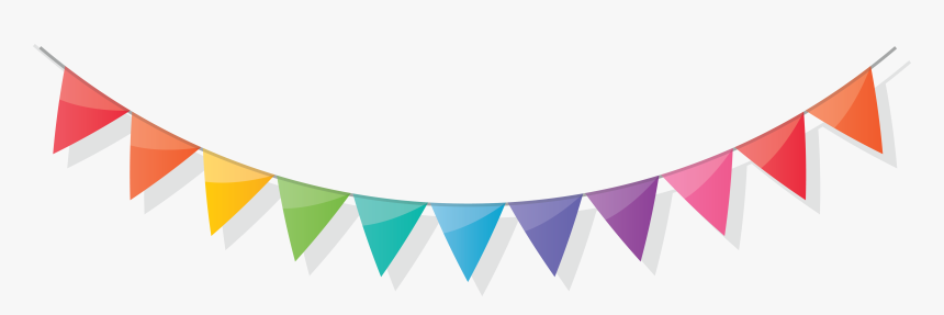 Birthday Flags, HD Png Download, Free Download