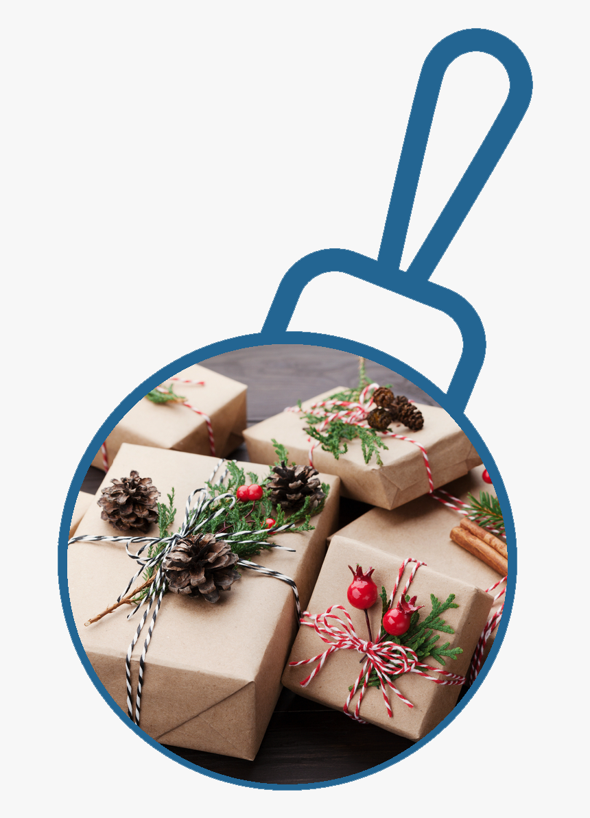 Gift Wrap - Zero Waste Present Wrap Ideas, HD Png Download, Free Download